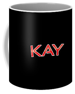 Coffee Mug featuring the digital art Kay by TintoDesigns