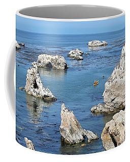 Kayaking At Shell Beach Coffee Mug