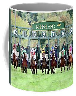 Keeneland Starting Gate Coffee Mug