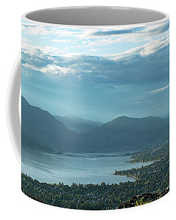 Kelowna From Kuipers Peak Coffee Mug