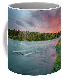 Kenai River Alaska Sunset Coffee Mug