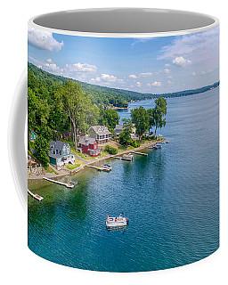 Keuka Boat Day Coffee Mug