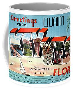 Key West Greetings Coffee Mug