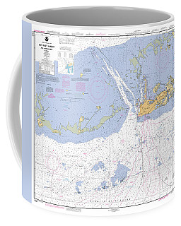 Key West Harbor And Approaches, Noaa Chart 11441 Coffee Mug