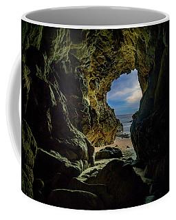 Keyhole Cave In Malibu Coffee Mug