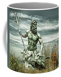 Coffee Mug featuring the photograph King Neptune And Miss Hanna At Cape Charles by Bill Swartwout Fine Art Photography