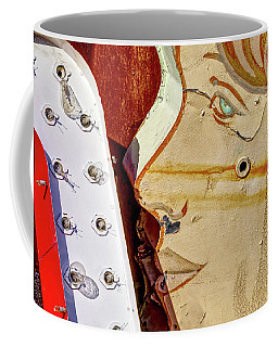 Coffee Mug featuring the photograph Kiss by Skip Hunt