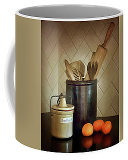 Kitchen Utensils - Bread Crumbs - Mandarin Oranges Coffee Mug