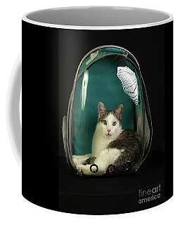 Kitty In A Bubble Coffee Mug