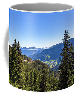 Coffee Mug featuring the photograph Kleinwalsertal, Austria by Andreas Levi