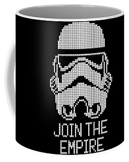 Knitted Storm Trooper - Join The Empire Coffee Mug