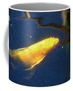 Koi Pond Fish - Golden Desires - By Omaste Witkowski Coffee Mug