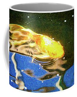 Koi Pond Fish - Golden Dreaming - By Omaste Witkowski Coffee Mug