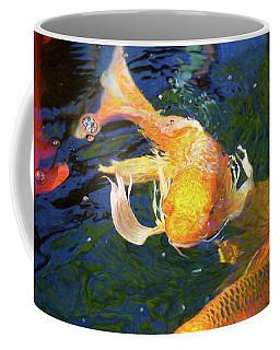 Koi Pond Fish - Golden Surprises - By Omaste Witkowski Coffee Mug