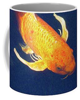 Koi Pond Fish - Liquid Delight - By Omaste Witkowski Coffee Mug