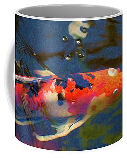 Koi Pond Fish - Painted Dreams - By Omaste Witkowski Coffee Mug