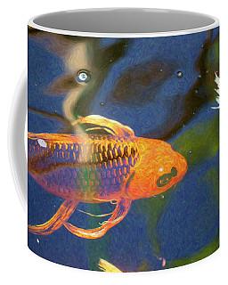 Koi Pond Fish - Picasso's Pets - By Omaste Witkowski Coffee Mug