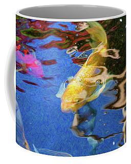 Koi Pond Fish - Playful Energies - By Omaste Witkowski Coffee Mug