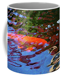 Koi Pond Fish - Random Pleasures - By Omaste Witkowski Coffee Mug