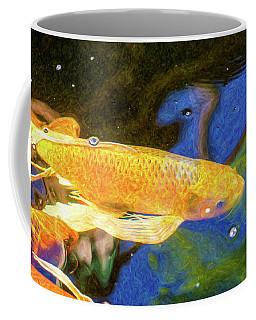 Koi Pond Fish - Winning Moves - By Omaste Witkowski Coffee Mug