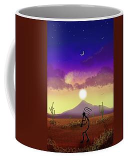 Kokopelli Dream World Coffee Mug