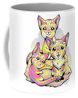 Kolorful Kitties Coffee Mug
