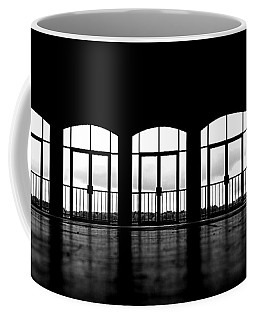 Coffee Mug featuring the photograph Kresge Stage by SimplyCMB