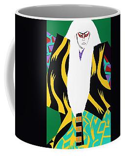 Kabuki Lion Dancer Coffee Mug