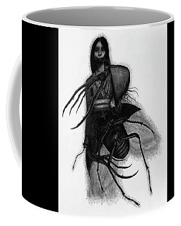 Kuchisake-onna The Slit Mouthed Woman Ghost - Artwork Coffee Mug