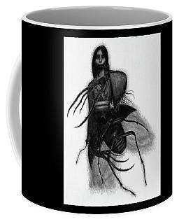 Kuchisake-onna The Slit Mouthed Woman Ghost - Artwork Coffee Mug