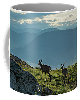 Kuipers Peak Deer Coffee Mug