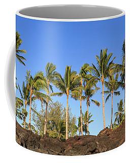 Golden Palms Coffee Mug