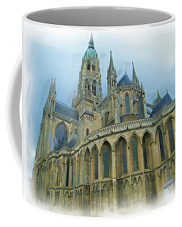 La Cathedrale De Bayeux Coffee Mug