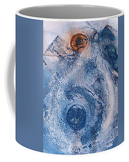 Coffee Mug featuring the painting  La Donna Del Lago by 'REA' Gallery