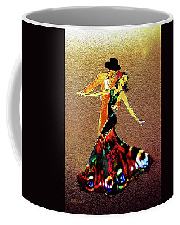 Coffee Mug featuring the painting La Fiesta by Valerie Anne Kelly
