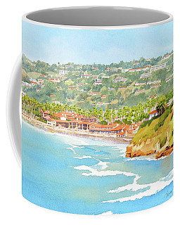 La Jolla Shores From Coast Walk Coffee Mug