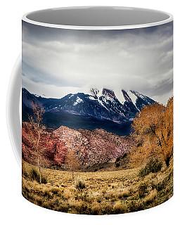 Coffee Mug featuring the photograph La Sal Mountain Range by David Morefield