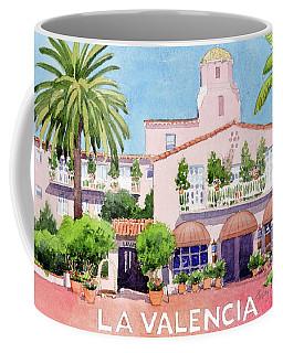 La Valencia With Lettering Coffee Mug