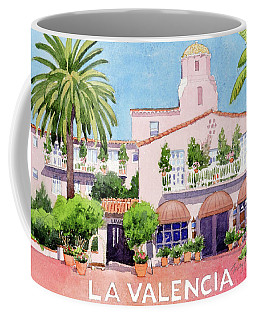 La Valencia With Lettering Coffee Mug