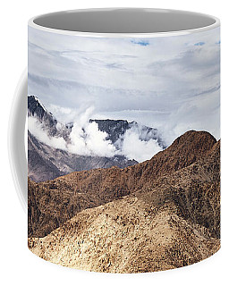 Coffee Mug featuring the photograph Ladakh Peaks by Whitney Goodey