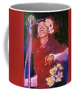 Lady Day - Billie Holliday Coffee Mug