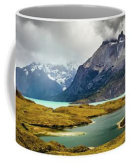 Laguna Larga, Lago Nordernskjoeld, Cuernos Del Paine, Torres Del Paine, Chile Coffee Mug