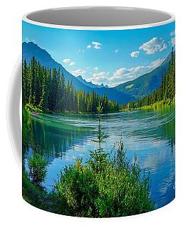 Lake At Banff Indian Trading Post Coffee Mug