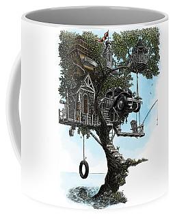 Lake Front Dream House Coffee Mug