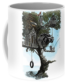 Lake Front Dream House Coffee Mug