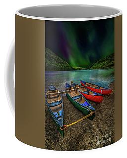 lake Geirionydd Canoes Coffee Mug