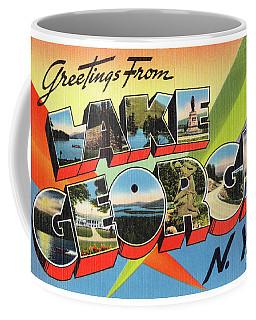 Lake George Greetings Coffee Mug