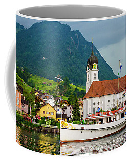 Lake Lucerne Steamer Coffee Mug