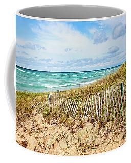 Lake Michigan Beachcombing Coffee Mug
