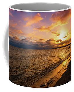 Lake Ontario Colorful Dawn Coffee Mug